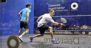Nick Matthew marches on as Amr Shabana is shaken in US Open