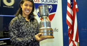Nicol David claims US Open hat-trick