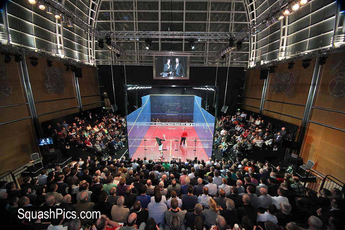 squash mad rush is on for canary wharf tickets