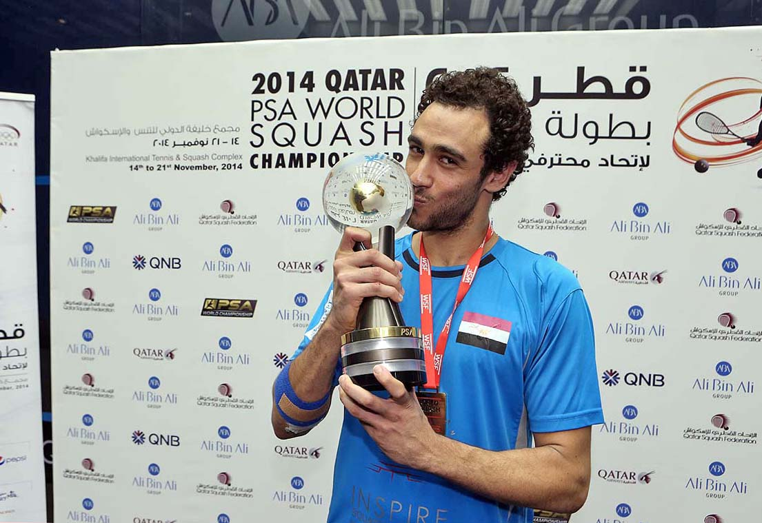 What a comeback s Ramy Ashour wins his third world title in Qatar