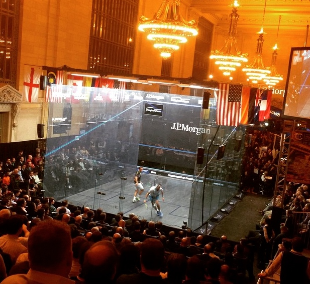 ToC observations: Spectacular squash in an iconic location