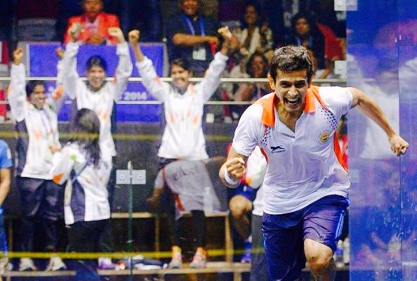 India go mad as they win the men's gold medal in the Asian Games