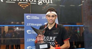 Mohamed Elshorbagy masters Nick Matthew in a glass act in Manhattan