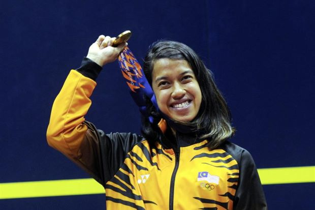 Players like Nicol David are outstanding role models