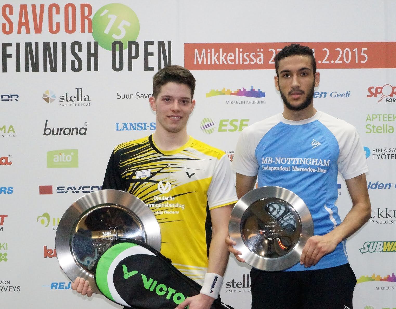 Squash Mad Raphael Kandra captures Finnish Open crown - Squash Mad
