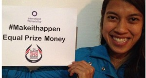 What women want: Equal prize money!