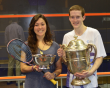 Todd Harrity and Amanda Sobhy are US champions
