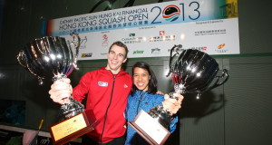 Nick Matthew and Nicol David driven by hunger to win