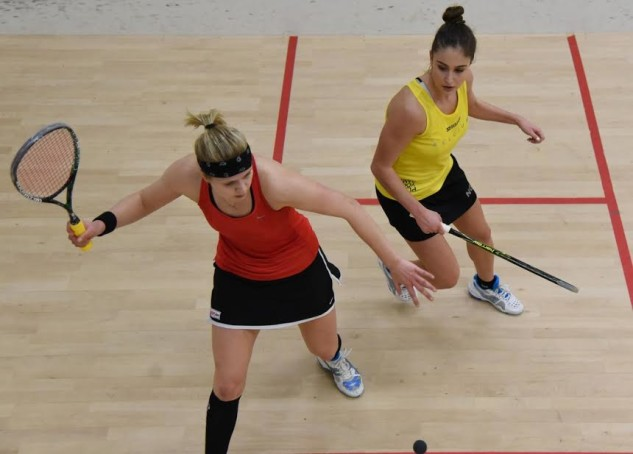 Fiona Moverley (left) powers to the Edinburgh Open title