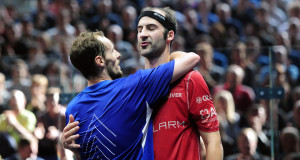 Gregory Gaultier grabs Grasshopper glory with 3-0 win over Simon Rosner