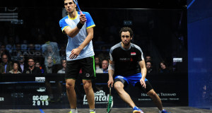 World champion Ramy Ashour limps out of Grasshopper Cup