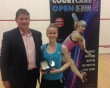Emily Whitlock wins CourtCare Open