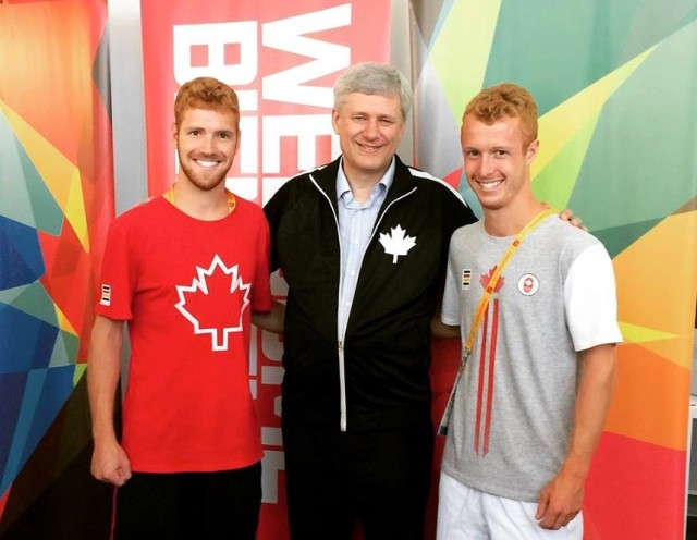 The Snell brothers hang out with the Canadian prime minister ... as you do
