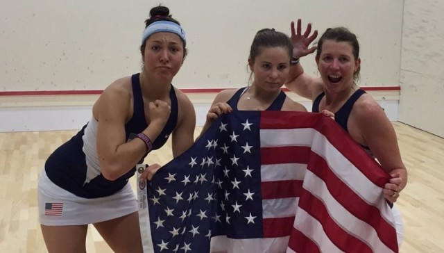 Going for gold: the fired up USA women's team