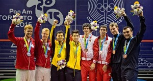 Pan-Am Doubles gold for Colombia and USA