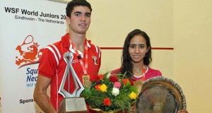 Diego Elias and Nouran Gohar win World Junior titles