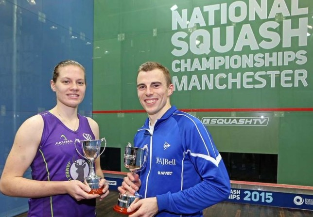 Winning the Nationals with Nick Matthew