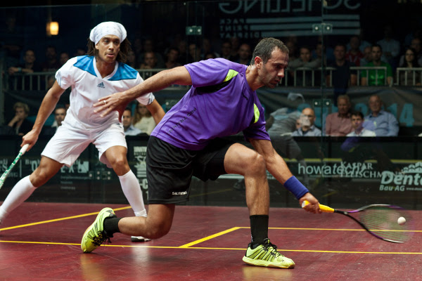 Amr Shabana always had the ability to control the pace and tempo of a game