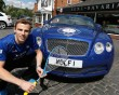 Nick Matthew unveils the 'Wolf Bentley Titan'