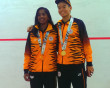 Malaysian pair strike gold at Youth Games