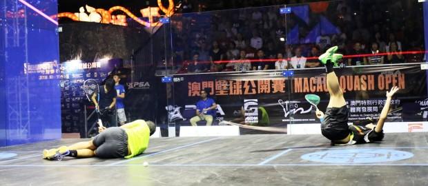 Max Lee and Laura Massaro are Macau Open Champions