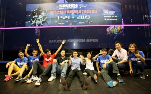 The Macau Squash team that worked hard all week finally gets a breather