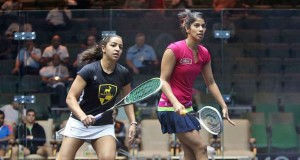 Raneem El Welily sent crashing from Qatar Classic as Chinappa leads day of first-round shocks