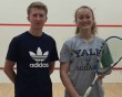 Elise and Jack lift English racquetball crown