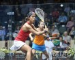 Raneem leads three-way fight at the top