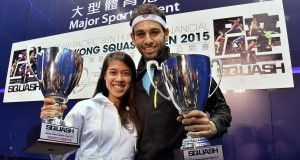 Nicol David storms to 10th Hong Kong crown…and it's glory for Shorbagy after night at police station