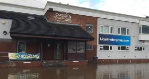 Alan's Blog: Let's rally round for Carlisle Squash Club, flooded out again