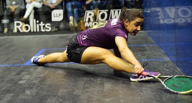 Raneem El Welily at full stretch - and more!