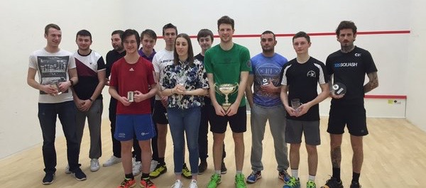 Paul Bell (green shirt) wins his ninth Cumbria title