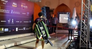 Ramy Ashour limps out of El Gouna