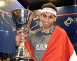 Mohamed Elshorbagy beats Gregory Gaultier in El Gouna final