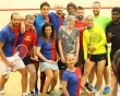 Squash Junkies jamboree: 21st birthday party this year