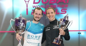 Gregory Gaultier and Laura Massaro win PSA World Series Finals