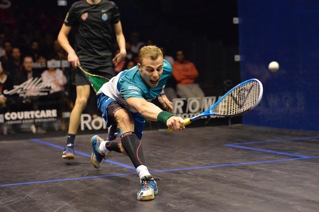 Nick Matthew's last match was in the British Open