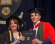 Nick Matthew awarded honorary degree by University of Sheffield