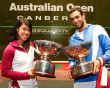 Nicol David keeps busy during Australian Open