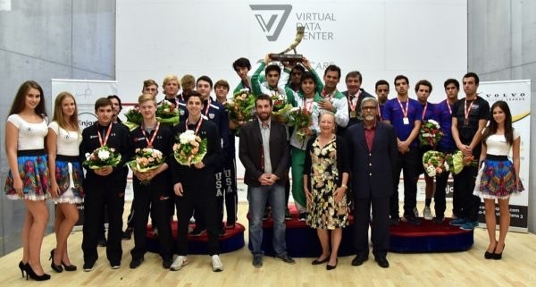 The presentation ceremony in Poland
