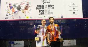 Daryl Selby and Joelle King are Macau champions