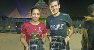 Karim Gawad and Raneem El Welily triumph at the Pyramids
