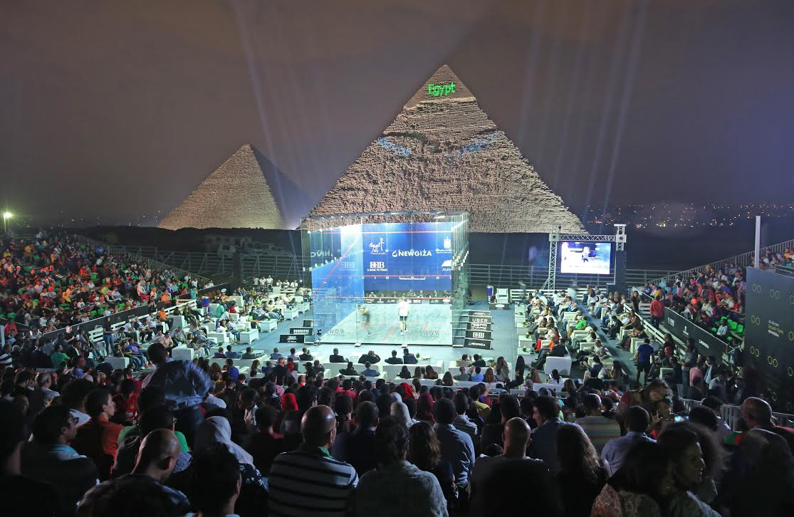Winning at the Pyramids was a dream come true for Karim Abdel Gawad