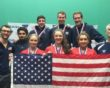 USA strike triple gold at Pan-Am Squash