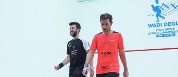 Daryl Selby into third round in Cairo