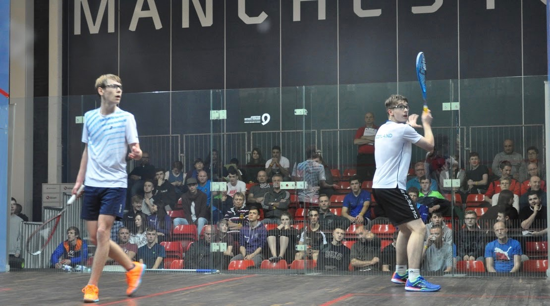 Action on court in Manchester