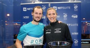 Gregory Gaultier and Laura Massaro win in San Francisco