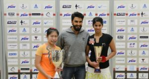Bollywood star Ranveer Singh salutes squash girls in Mumbai