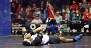 US Open: Mohamed Elshorbagy escapes against Cesar Salazar